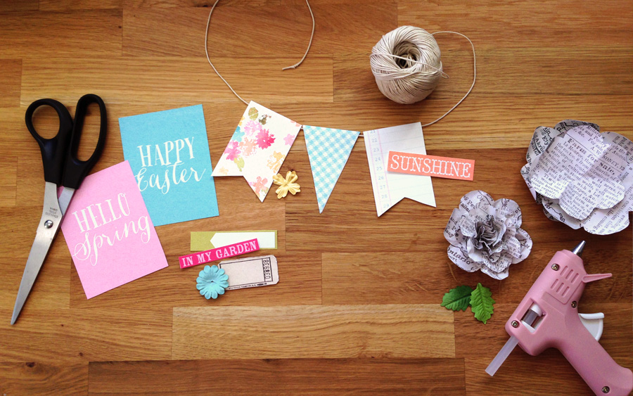 Pixels to Paper : Spring Crafts
